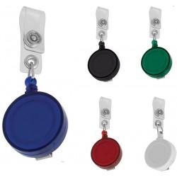Пластмасова ролетка за бадж в 5 цвята