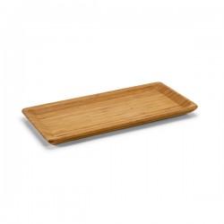 Малък поднос за сервиране от бамбук