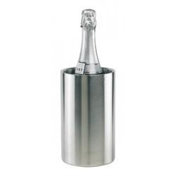 Рекламна двустенна шампаниера за охлаждане на вино и шампанско