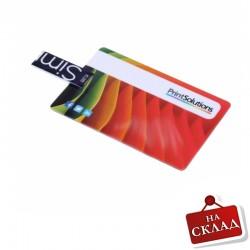 USB флаш памет с форма на кредитна карта
