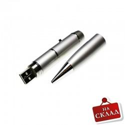 метална химикалка с лазерна показалка и USB