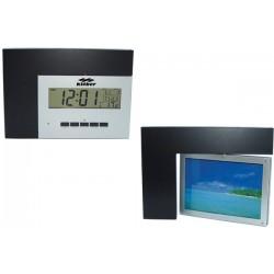 Въртяща се рамка за снимка и часовник