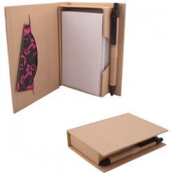 Еко кутийка с листа и еко химикалка