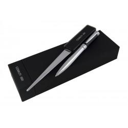 Луксозен комплект Avanture / Cerruti 1881 включващ метален химикал и луксозен нож за писма