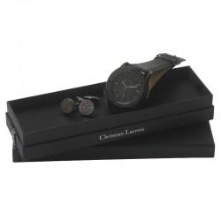 Луксозен бизнес комплект Corner / Christian Lacroix включващ ръчен часовник и комплект ръкавели