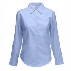 Вталена дамска риза с дълъг ръкав Fruit of the Loom