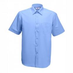 Официална мъжка риза с къс ръкав