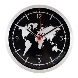 Метален кварцов часовник за стена - F.Bartholdi