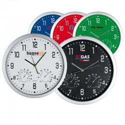 Пластмасови стенни часовници с термометър и хидрометър