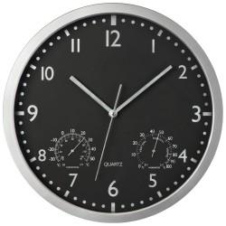 Класически стенен часовник с термометър и хидрометър