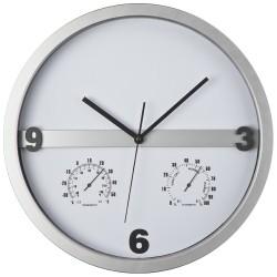 Часовник с термометър и хидрометър с възможност за брандиране на половината дисплей