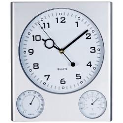 Пластмасов стенен часовник с оригинален дизайн