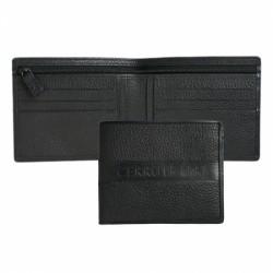 Луксозен портфейл от естествена кожа Dock / Cerruti 1881