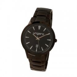Елегантен ръчен часовник Alceo Black - Ungaro