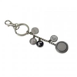 Стилен метален ключодържател и аксесоар за чанта Naiades Perles / Cacharel в кутия