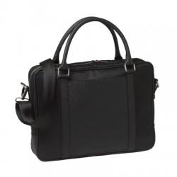 Луксозна чанта за документи с два външни джоба Parcours Black / Nina Ricci