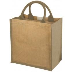Рекламна чанта за пазар от юта