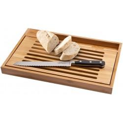 Луксозна дъска за рязане с включен нож за хляб Paul Bocuse в подаръчна кутия.