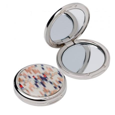 Луксозно дамско огледалце в кутия Ondes Bleu / Cacharel