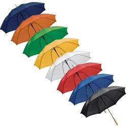 Автоматичен чадър с права дървена дръжка