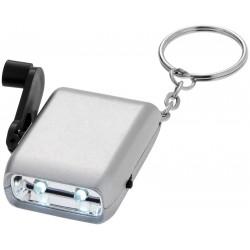 Уникален пластмасов ключодържател с динамо