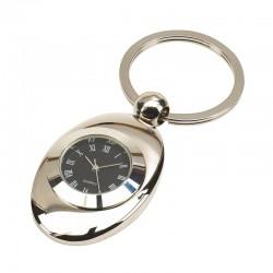 Рекламен метален ключодържател с часовник