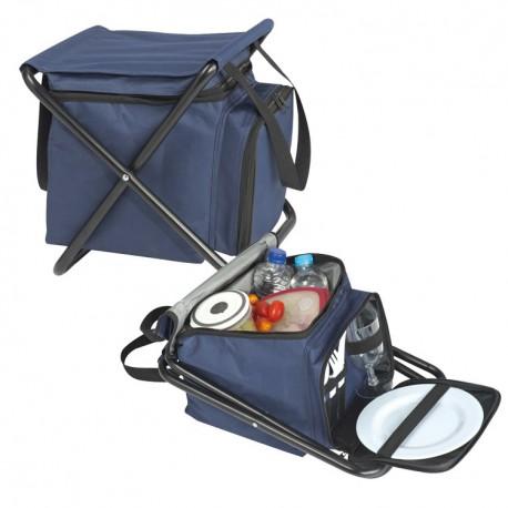 Практично столче за пикник с хладилна чанта