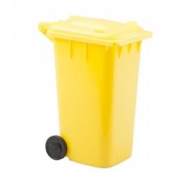 Държач за химикалки с форма на кофа за боклук