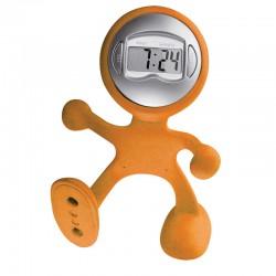 Рекламно гъвкаво човече с часовник