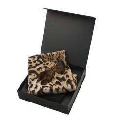 Луксозен дамски комплект шал и дамски очила Jean Louis Scherrer