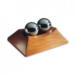 Антистрес китайски топки на дървена поставка