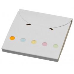 Комплект цветни лепящи листчета