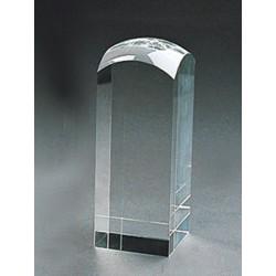 Кристален рекламен обелиск с възможност за 3D гравиране