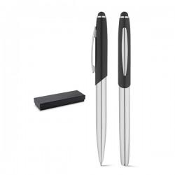 Комплект химикалка и ролер с тъч скрийн накрайник, в кутия