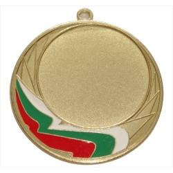 Медал с българското знаме, диаметър 70 мм