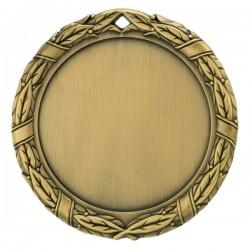 Спортен медал с диаметър 70 мм с надписване на лого