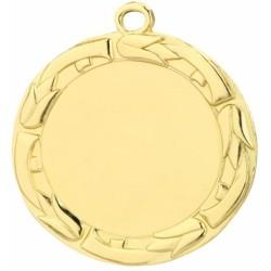 Спортен медал с надписване на лого или текст с диаметър 70 мм