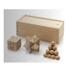 Комплект от 3 логически игри в кутия