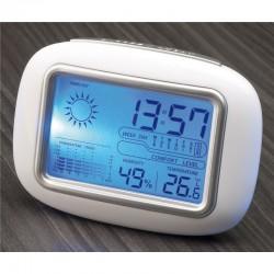 Компактна настолна метеостанция с LCD дисплей