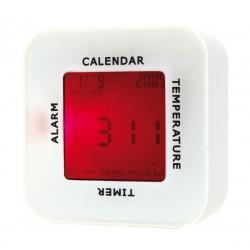 Часовник за бюро с квадратна форма