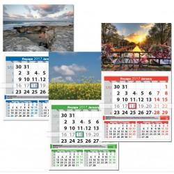 Стенни рекламни календари Квадрат Стил