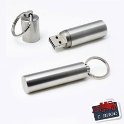 USB метална флашка-ключодържател