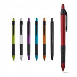 Пластмасова химикалка с гумиран клипс Curl