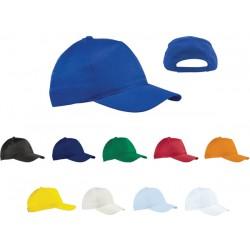 Пет панелна полиестерна шапка