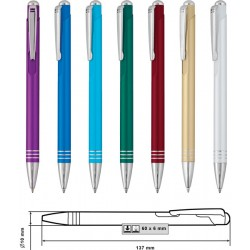Рекламни метални химикалки за печат
