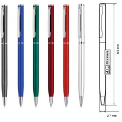 Фина метална химикалка за брандиране