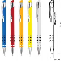 Метална химикалка с оригинален дизайн