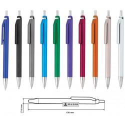 Фирмена пластмасова рекламна химикалка