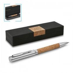 Елегантна еко химикалка в подаръчна кутия Cork