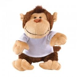 Детска плюшена маймунка с тениска за брандиране
